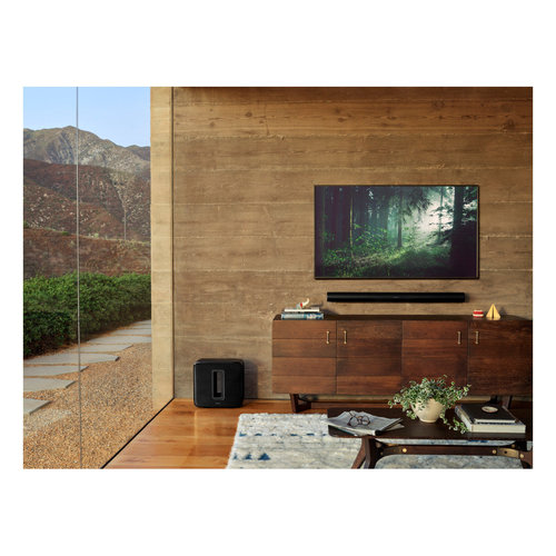 View Larger Image of Arc Wireless Sound bar with Dolby Atmos, Apple AirPlay 2, and Built-in Voice Assistant
