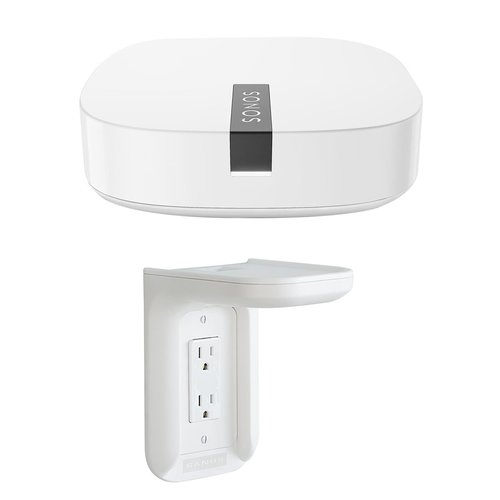 View Larger Image of BOOST Enterprise-Grade Wireless Adapter for Sonos with Outlet Shelf (White)