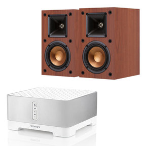CONNECT:AMP Wireless Hi-Fi Player with Klipsch R-14M Reference Monitor Speakers - Pair