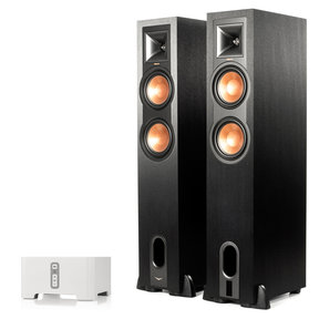 CONNECT Wireless Hi-Fi Player with R-26PF Powered Floorstanding Speakers