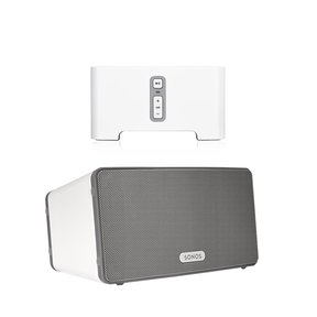 CONNECT Wireless HiFi Player with Sonos Play:3 All-In-One Wireless Music Streaming Speaker