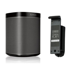 PLAY:1 All-In-One Compact Wireless Music Streaming Speaker with Flexson Wall Mount