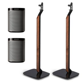 PLAY:1 All-In-One Wireless Speakers with Flexson Premium Floor Stands - Pair