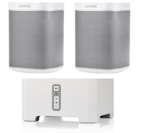 PLAY:1 Wireless Speakers and CONNECT Wireless Hi-Fi Player