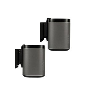 PLAY:1 Wireless Speakers and Flexson Wall Brackets - Pair