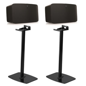 PLAY:5 Wireless Smart Speakers with Flexson Horizontal Floor Stands - Pair