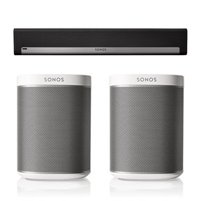 PLAYBAR Surround Sound System with PLAY:1 Pair
