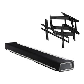PLAYBAR Wireless Streaming Hi-Fi Soundbar with Flexson Cantilever Playbar and TV Mount