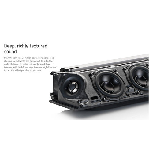 View Larger Image of PLAYBAR Wireless Streaming HiFi Sound Bar (Black)