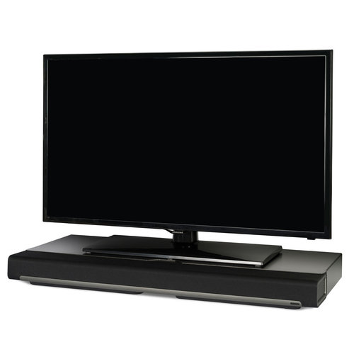 View Larger Image of PLAYBAR Wireless Streaming HiFi Sound Bar (Black) with Flexson TV Stand
