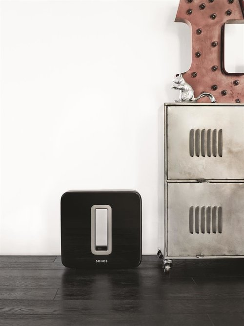 View Larger Image of SUB Wireless Subwoofer for use with Sonos Components (Gloss Black)