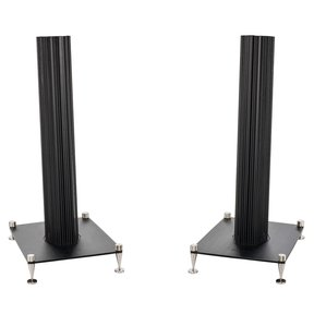Olympica I Compact Monitor Speaker Floorstands - Pair (Black)