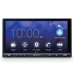 """6.95"""" Digital Media Receiver w/ Apple CarPlay and Android Auto"""
