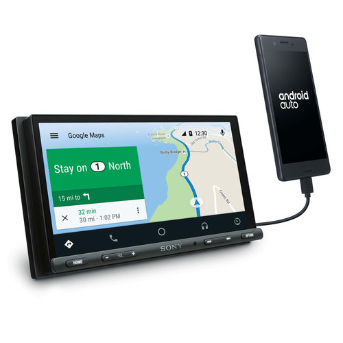 """View Larger Image of 6.95"""" Digital Media Receiver w/ Apple CarPlay and Android Auto"""