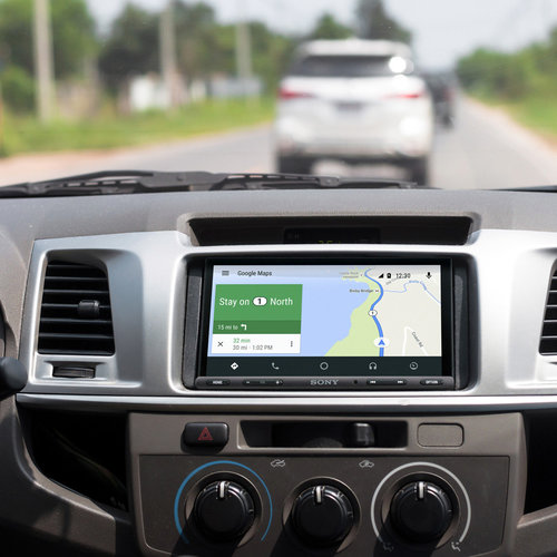 "View Larger Image of 6.95"" Digital Media Receiver w/ Apple CarPlay and Android Auto"