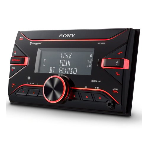 View Larger Image of DSX-B700 Double-DIN Digital Media Receiver w/ Bluetooth