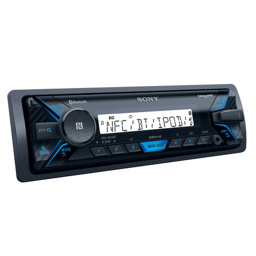 View Larger Image of DSX-M55BT Marine Digital Media Receiver with Bluetooth