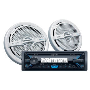 DXS-M5511BT Marine Package with DSXM55BT Marine Digital Media Receiver & XSMP1611 Speakers