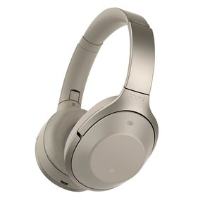 MDR-1000X Wireless Noise-Cancelling Headphones with Built-In Mic