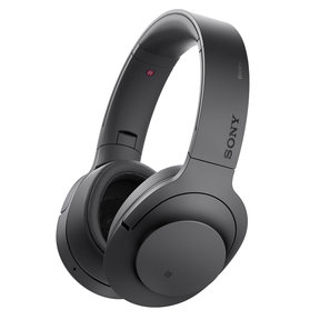 MDR-100ABN/B h.ear on Wireless Noise-Cancelling Headphones with Built-In Microphone
