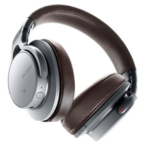MDR-1ABT Hi-Res Over-The-Ear Stereo Headphones With Bluetooth (Silver/Black)