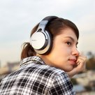 View Larger Image of MDR-1ABT Hi-Res Over-The-Ear Stereo Headphones With Bluetooth (Silver/Black)