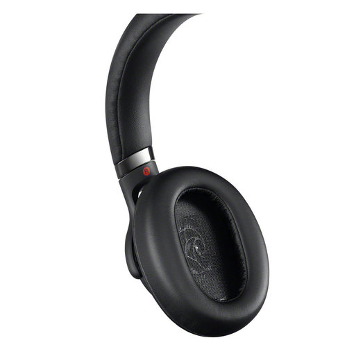 View Larger Image of MDR1AM2B Wired High-Resolution Audio Over-Ear Headphones with Built-In Remote and Microphone (Black)