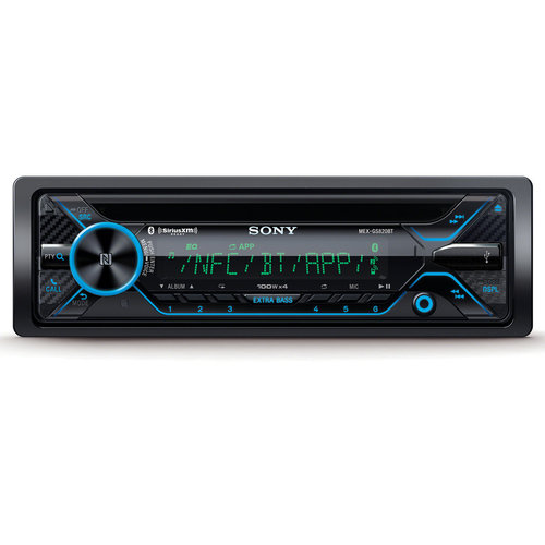 Sony MEX-GS820BT CD Receiver with Bluetooth  Music Center