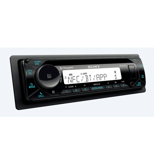 View Larger Image of MEX-M72BT Marine CD Receiver w/ Bluetooth & SongPal