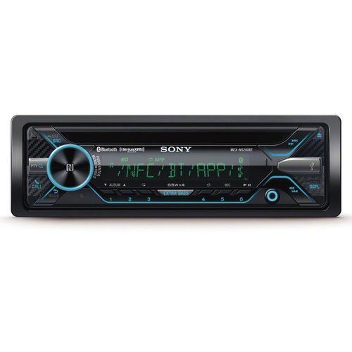 View Larger Image of MEX-N5200BT CD Receiver with Bluetooth & SongPal