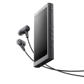 NW-A37HN/B Walkman with High-Resolution Audio (Gray)
