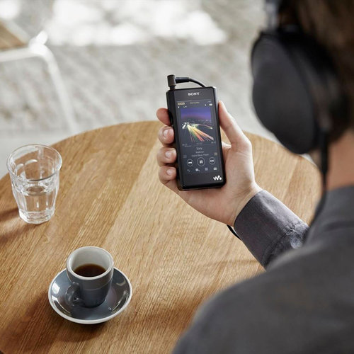 View Larger Image of NW-WM1A High-Resolution Walkman with Bluetooth (Black)