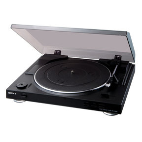 PS-LX300USB Stereo Turntable System with USB Output (Black)