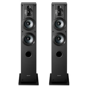 SS-CS3 3-Way 4-Driver Floor-Standing Speaker - Pair (Black)