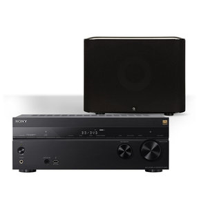 STR-DN860 WiFi Home Theater Receiver With Boston Acoustics M-Series Subwoofer (Black)