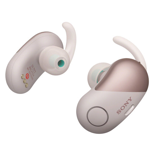 View Larger Image of WF-SP700N True Wireless Splash-Proof Noise-Cancelling In-Ear Headphones with Built-In Microphone