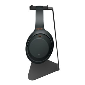 WH-1000XM3 Wireless Noise Cancelling Headphones with Kanto H1 Stand (Black)