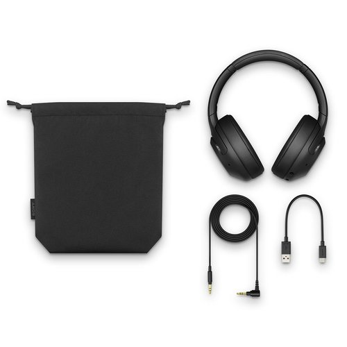 View Larger Image of WH-XB900N/B Wireless Noise Canceling Extra Bass Headphones (Black)