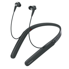 WI-1000X Wireless Noise-Cancelling In-Ear Headphones with Mic and Remote