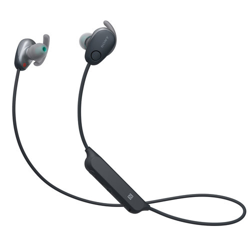 View Larger Image of WI-SP600N Wireless Noise-Cancelling Earbuds with In-Line Remote and Microphone