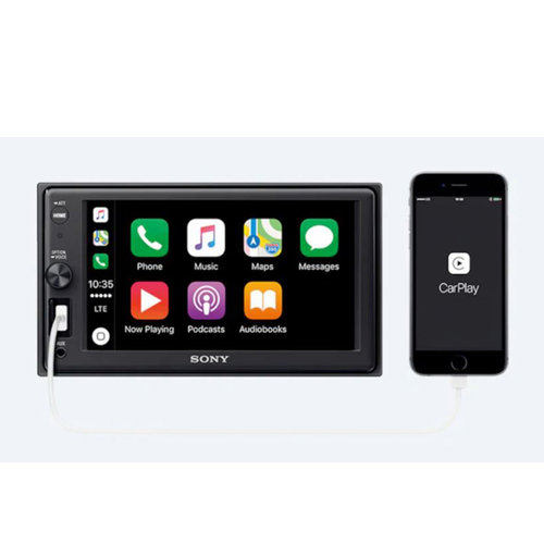 "View Larger Image of XAV-AX1000 6.2"" Apple CarPlay Media Receiver with Bluetooth"