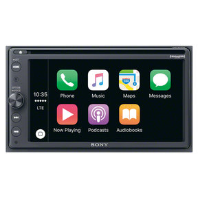 "XAV-AX200SXM 6.4"" CD/DVD Receiver with Apple CarPlay, Android Auto, and SiriusXM Kit"