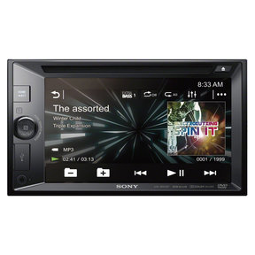 """XAV-W651BTN 6.2"""" CD/DVD Touchscreen Receiver with Navigation and Bluetooth"""