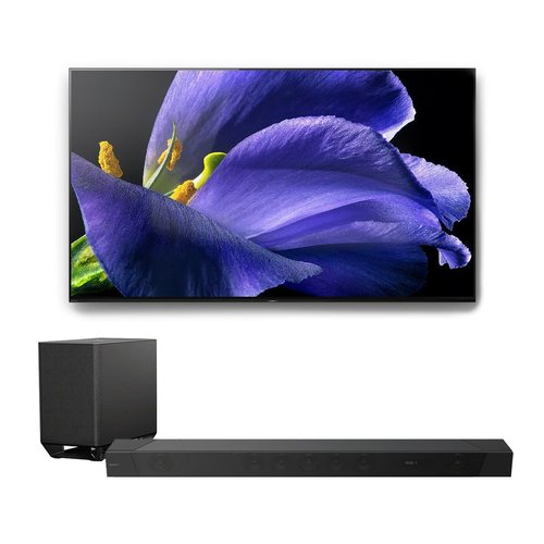 """View Larger Image of XBR-55A9G 55"""" BRAVIA OLED 4K UHD HDR TV with HT-ST5000 7.1.2ch 800W Dolby Atmos Sound Bar"""