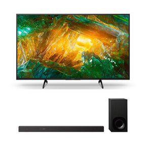 """XBR-65X800H 65"""" BRAVIA 4K Ultra HD HDR Smart TV with HT-Z9F 3.1-Channel Dolby Atmos Sound Bar and Subwoofer"""