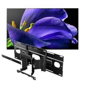 "XBR-77A9G 77"" BRAVIA OLED 4K UHD HDR TV with SU-WL855 Ultra Slim Swivel TV Mount"