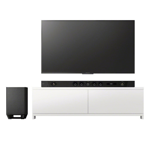 """View Larger Image of XBR-85Z9G 85"""" 8K UHD HDR TV with HT-ST5000 7.1.2ch 800W Dolby Atmos Sound Bar"""