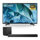 """View Larger Image of XBR-85Z9G 85"""" 8K UHD HDR Smart TV with HT-ST5000 7.1.2ch 800W Dolby Atmos Sound Bar"""