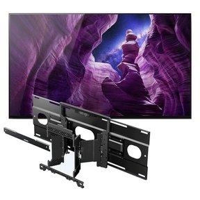"XBR55A8H 55"" BRAVIA OLED 4K HDR TV with SU-WL855 Ultra Slim Swivel TV Mount"
