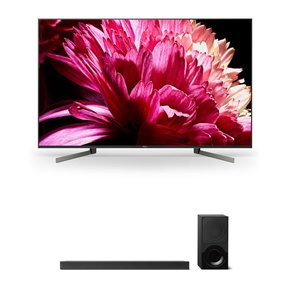 """XBR55X950G 55"""" BRAVIA 4K Ultra HD HDR Smart TV and HT-X9000F 2.1-Channel Dolby Atmos Sound Bar with Subwoofer"""